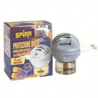 Spira Εντομοαπωθητική Συσκευή 2σε1 Για Ταμπλέτες ή Υγρό Και Δώρο Υγρό Εντομοαπωθητικό Ανταλλακτικό 45 Νύχτες