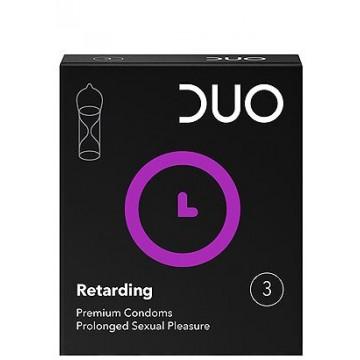 Προφυλακτικά Duo Retarding Επιβραδυντικό 3 τεμ