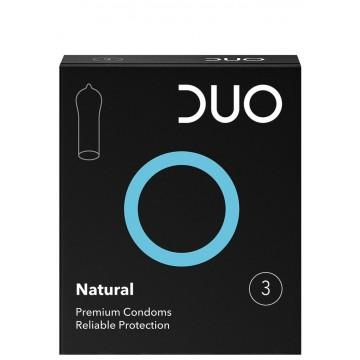 Προφυλακτικά Duo Νatural - Κανονικό 3 τεμ