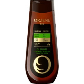 Orzene Σαμπουάν Μπύρας Λιπαρά  Μαλλιά 400ml