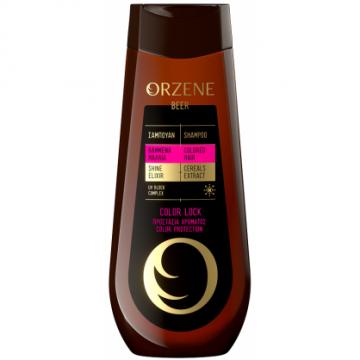 Orzene Σαμπουάν Μπύρας Βαμμένα Μαλλιά 400ml