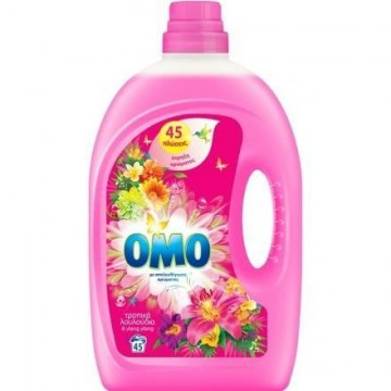 ΟΜΟ Υγρό Πλυντηρίου Ρούχων Τροπικά Λουλούδια 45Μ 2.925ML