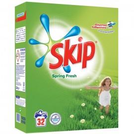 Skip Spring Fresh Σκόνη Πλυντηρίου Ρούχων 32ΜΕΖ