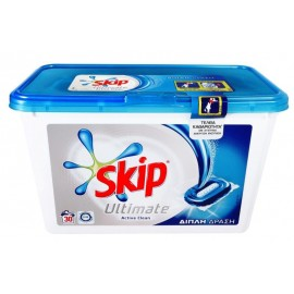 Skip Ultimate Active Clean DUO Κάψουλες 30 ΤΕΜ