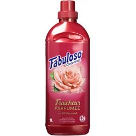 Fabuloso Μαλακτικό Ρούχων Τριαντάφυλλο Ξύλο Κέρδου 1L 40MEZ