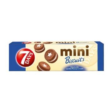7Days Μπισκότα Mini Με Βανίλια 100gr