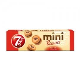 7Days Μπισκότα Mini Με Γέμιση Κακάο 100gr