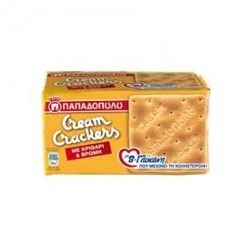 Παπαδοπούλου Cream Crackers Με Κριθάρι & Βρώμη 185gr