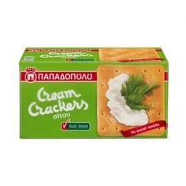 Παπαδοπούλου Cream Crackers Ω3 Χωρίς Ζάχαρη 165gr