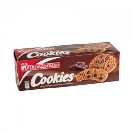 Παπαδοπούλου Cookies Μπισκότα Διπλή Σοκολάτα 180gr