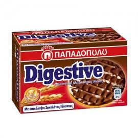 Παπαδοπούλου Digestive Μπισκότα Με Σοκολατα Γαλακτος 200gr
