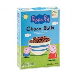 Peppa Pig Choco Balls Τραγανές Μπάλες Δημητριακών Με Σοκολάτα Γαλακτος 250gr