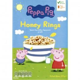 Peppa Pig Honey Rings Τραγανά Δαχτυλίδια Δημητριακών Με Μέλι 250gr