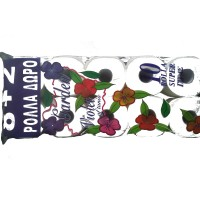 Garden Violet Of Tania 10 Ρολά x 180gr Χαρτί Υγείας Λείο