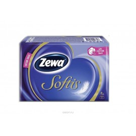ZEWA Χαρτομάντηλα Τσέπης 4φυλλα Συσκευασία 6 Πακέτα