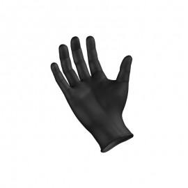 Γάντια Νιτριλίου Μαύρα Χωρίς Πούδρα Extra Large 100τεμ