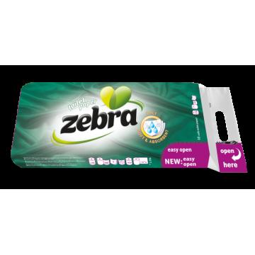 Zebra Soft Χαρτί Υγείας 10ρολλά 3φύλλα Χ 75gr